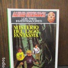 Libros de segunda mano: ALFRED HITCHCOCK Y LOS TRES INVESTIGADORES - MISTERIO DEL LAGO FANTASMA. Lote 156000614