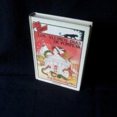 Libros de segunda mano: EDWARD BULWER-LYTTON - LOS ULTIMOS DIAS DE POMPEYA - COLECCIÓN TUS LIBROS, ANAYA 1ª EDICIÓN 1989. Lote 156450942