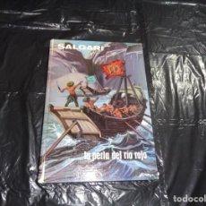 Libros de segunda mano: LA PERLA DEL RIO ROJO SALGARI.. Lote 156622174