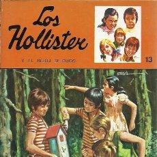 Libros de segunda mano: 13 LOS HOLLISTER Y EL RELOJ DEL CUCO JERRY WEST TORAY. Lote 157129358