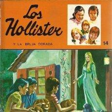 Libros de segunda mano: 14 LOS HOLLISTER Y LA BRUJA DORADA JERRY WEST TORAY. Lote 157129414