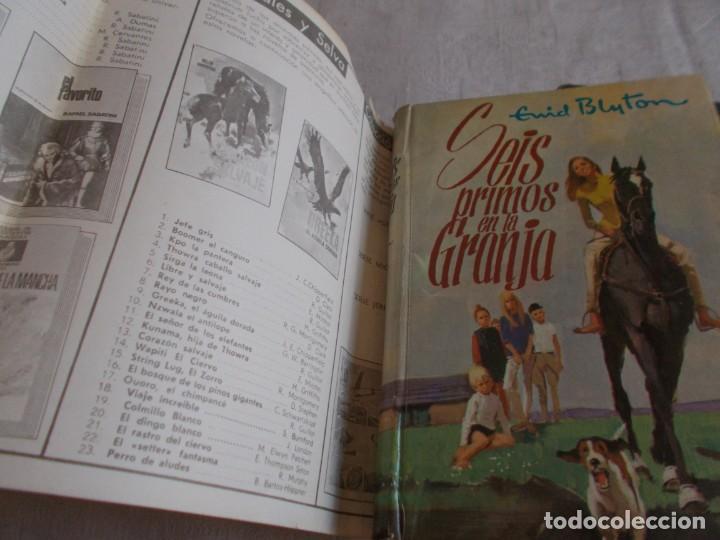 Libros de segunda mano: ENID BLYTON Seis primos en la Granja / Seis primos se separan - Foto 4 - 157751046