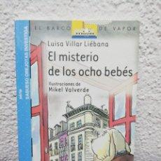 Libros de segunda mano: EL MISTERIO DE LOS OCHO BEBÉS. Lote 158095653