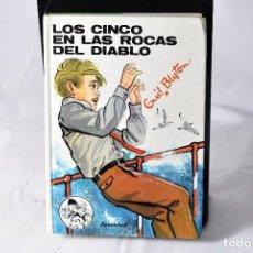 Libros de segunda mano: LOS CINCO EN LAS ROCAS DEL DIABLO , ENID BLYTON. Lote 158220038