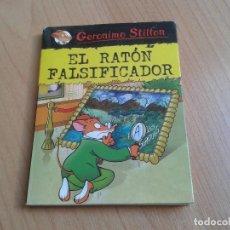 Libros de segunda mano: GERÓNIMO STILTON -- EL RATÓN FALSIFICADOR -- PLANETA 2018 -- LIBRO DE BOLSILLO. Lote 158225606