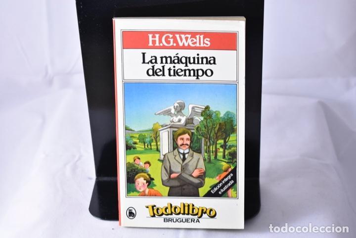 LA MÁQUINA DEL TIEMPO . WELLS, H.G. (Libros de Segunda Mano - Literatura Infantil y Juvenil - Novela)