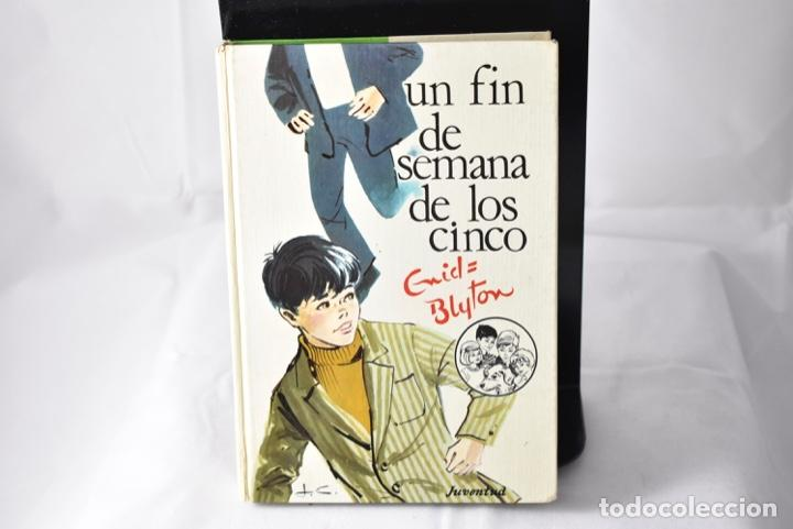 UN FIN DE SEMANA DE LOS CINCO . BLYTON, ENID (Libros de Segunda Mano - Literatura Infantil y Juvenil - Novela)