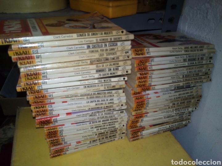 LOTE 63 BOLSILIBROS BRUGUERA KIAI ARTES MARCIALES (Libros de Segunda Mano - Literatura Infantil y Juvenil - Novela)