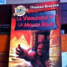 Libros de segunda mano: LA VENGANZA DE LA MOMIA ROJA. ALFAGUARA 2994. Lote 159539581