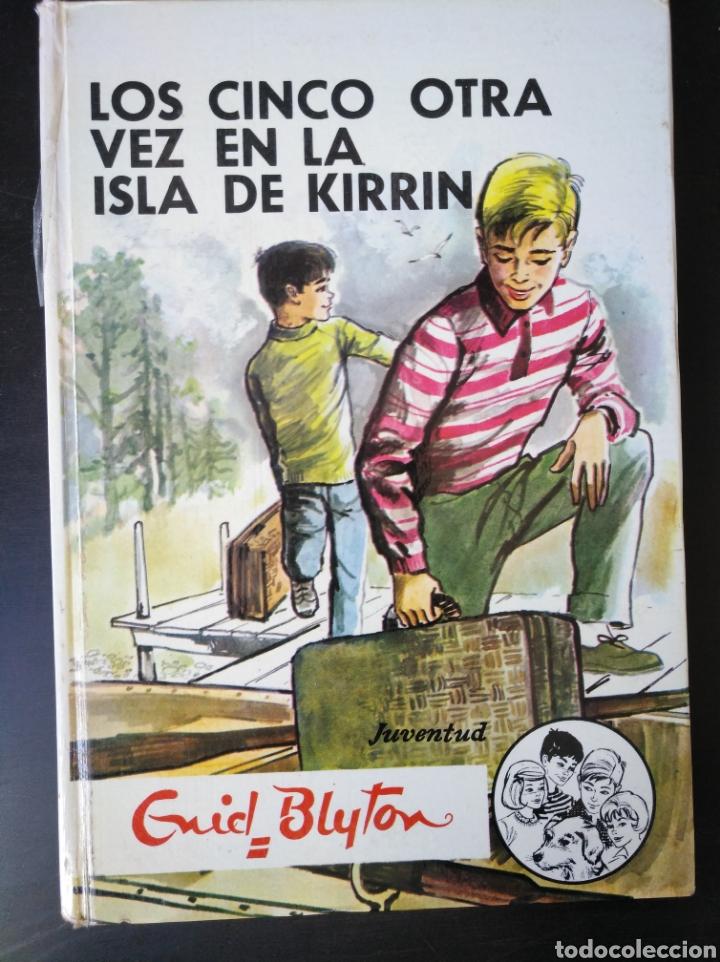 Libros de segunda mano: LOS CINCO OTRA VEZ EN LA ISLA DE KIRRIN. ENID BLYTON. JUVENTUD 1978 - Foto 3 - 159737272