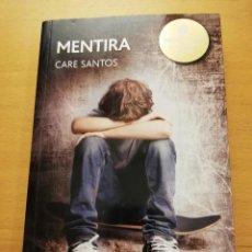 Libros de segunda mano: MENTIRA (CARE SANTOS) EDEBÉ. Lote 159851130
