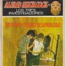 Libros de segunda mano: ALFRED HITCHCOCK Y LOS TRES INVESTIGADORES - MISTERIO DEL TESORO DESAPARECIDO. Lote 160464138