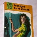 Libros de segunda mano: LOS JAGUARES Nº 15. ENEMIGOS EN LA SOMBRA. LAURA GARCÍA CORELLA, CARLES PRUNÉS. LAIDA FHER 1981. ++. Lote 160485634