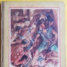 Libros de segunda mano: HAWKINS EL PIRATA. CUENTO ILUSTRADO. ALBERTO DE LECEA. 1943. Lote 160523094