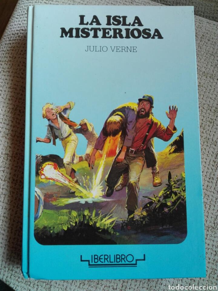 La Isla Misteriosa Julio Verne Editoral Iberlibro Coleccion Juvenil Grumete
