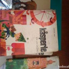 Libros de segunda mano: KASPERLE EN LA CIUDAD, JOSEPHINE SIEBE, NOGUER, 1975. Lote 165280689