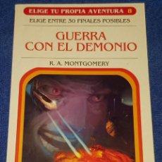 Libros de segunda mano: GUERRA CON EL DEMONIO - ELIGE TU PROPIA AVENTURA Nº 8 - EDICIONES SM (2007). Lote 162448562