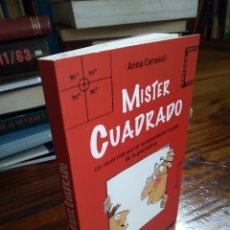 Libros de segunda mano: MISTER CUADRADO. ANNA CERASOLI. Lote 162897654