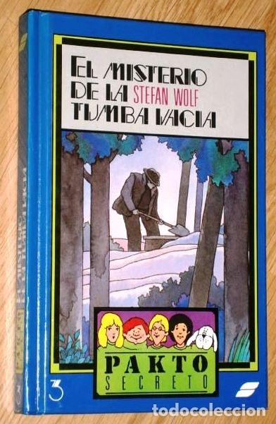 Libros de segunda mano: Lote 3 Libros Serie Pakto Secreto por Stefan Wolf de Ed. Susaeta en Madrid 1987 - Foto 4 - 163406722