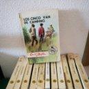 Libros de segunda mano: TOMOS DE LAS AVENTURAS DE LOS CINCO DE ENID BLYTON. Lote 163710777