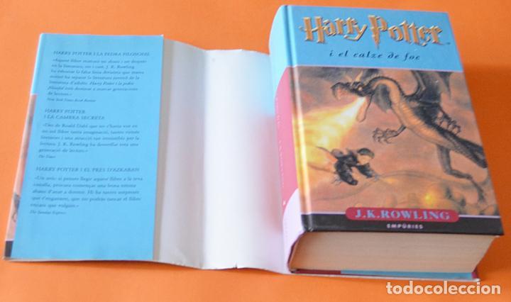 Libros de segunda mano: HARRY POTTER I EL CALZE DE FOC - J.K. ROWLING - EMPURIE - EN CATALA - Foto 2 - 163716422