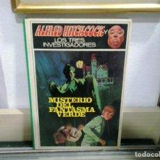 Libros de segunda mano: LMV - ALFRED HITCHCOCK Y LOS TRES INVESTIGADORES. MISTERIO DEL FANTASMA VERDE. Lote 164086530