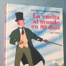 Libros de segunda mano: LA VUELTA AL MUNDO EN 80 DIAS - JULIO VERNE - BEASCOA - 1994 - CUENTOS ILUSTRADOS. Lote 164864822