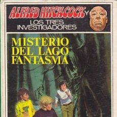 Libros de segunda mano: ALFRED HITCHCOCK LOS TRES INVESTIGADORES MISTERIO DEL LAGO FANTASMA. Lote 165080266
