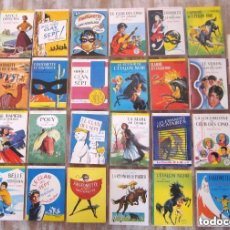 Libros de segunda mano: EXCELENTE LOTE 31 LIBROS BIBLIOTHEQUE ROSE Y VERTE LIBRAIRIE HACHETTE EN FRANCÉS. Lote 165295786
