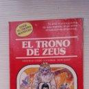 Libros de segunda mano: EL TRONO DE ZEUS ELIGE TU PROPIA AVENTURA. Lote 166500398