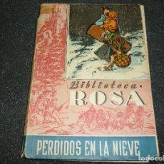 Libros de segunda mano: PERDIDOS EN LA NIEVE POR M. BAGUER. Lote 167165424
