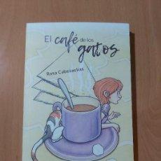Libros de segunda mano: LIBRO INFANTIL/JUVENIL EL CAFÉ DE LOS GATOS (CON ILUSTRACIONES). Lote 168102076