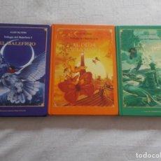 Libros de segunda mano: TRILOGÍA DEL MALEFICIO COMPLETA. Lote 168381216