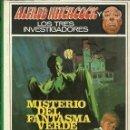 Libros de segunda mano: ALFRED HITCHCOCK Y LOS TRES INVESTIGADORES MISTERIO DEL FANTASMA VERDE. Lote 168391380