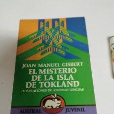 Libros de segunda mano: EL MISTERIO SE LA ISLA TOKLANG. AUSTRAL JUVENIL. ESPASA CALPE.. Lote 169092273