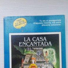 Libros de segunda mano: LA CASA ENCANTADA TRIA LA TEVA AVENTURA. Lote 169826249