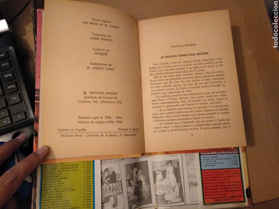 Libros de segunda mano: Las mellizas cambian de colegio. Enid blyton. molino. 1963. con sobrecubierta. 1 edición - Foto 2 - 170166966