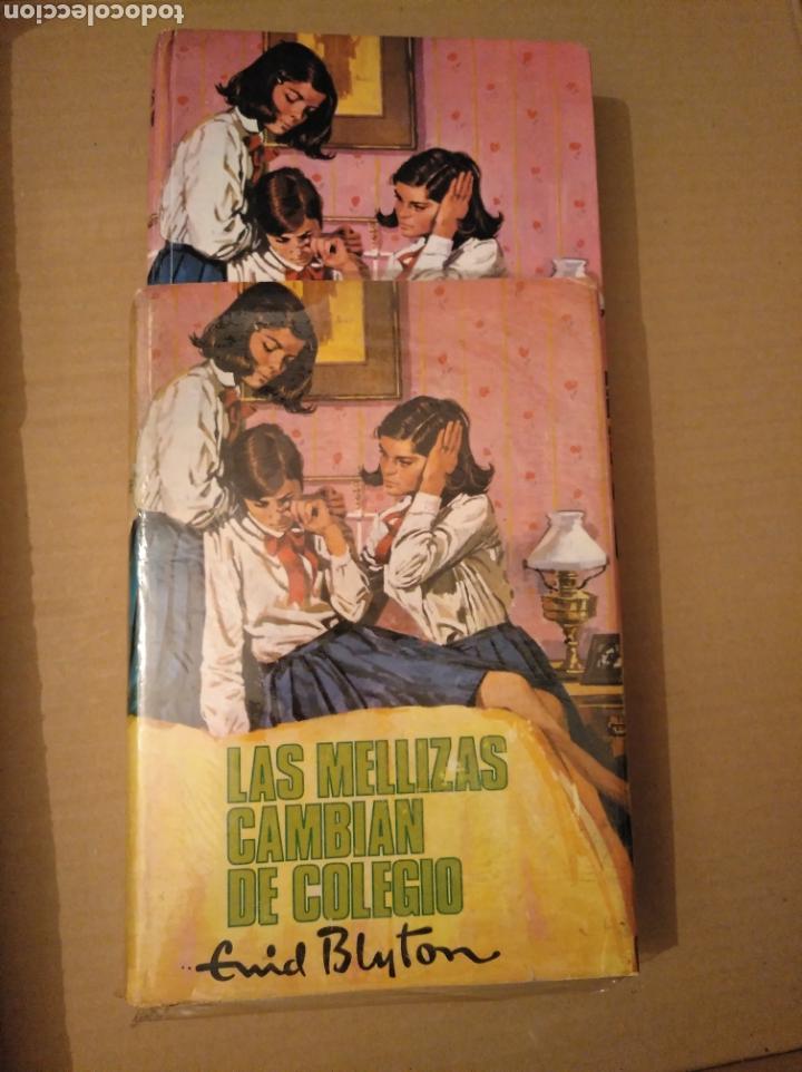 LAS MELLIZAS CAMBIAN DE COLEGIO. ENID BLYTON. MOLINO. 1963. CON SOBRECUBIERTA. 1 EDICIÓN (Libros de Segunda Mano - Literatura Infantil y Juvenil - Novela)