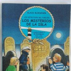 Libros de segunda mano: LOS DETECTIVES DEL FARO EN LOS MISTERIOS DE LA ISLA. Lote 171069737