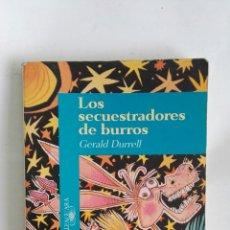 Libros de segunda mano: LOS SECUESTRADORES DE BURROS. Lote 171139793