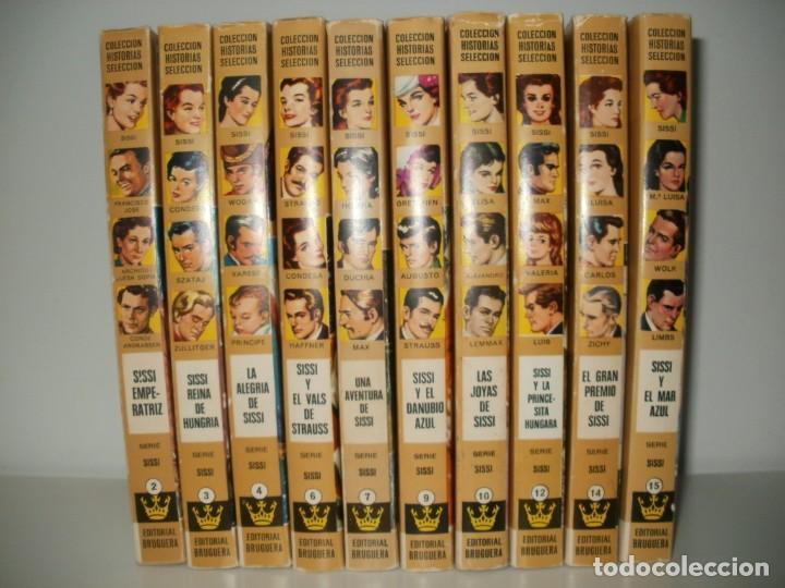 LOTE 10 LIBROS ILUSTRADOS SISSI BRUGUERA COLECCION HISTORIAS SELECCION (Libros de Segunda Mano - Literatura Infantil y Juvenil - Novela)