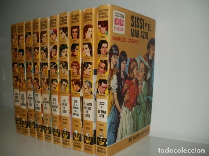 Libros de segunda mano: LOTE 10 LIBROS ILUSTRADOS SISSI BRUGUERA COLECCION HISTORIAS SELECCION - Foto 2 - 171204087