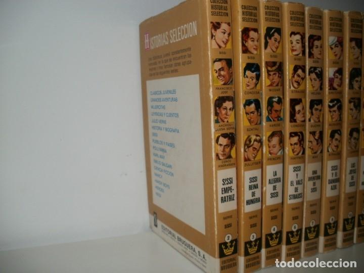 Libros de segunda mano: LOTE 10 LIBROS ILUSTRADOS SISSI BRUGUERA COLECCION HISTORIAS SELECCION - Foto 3 - 171204087