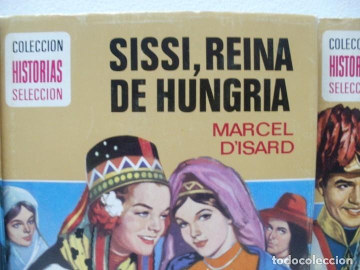 Libros de segunda mano: LOTE 10 LIBROS ILUSTRADOS SISSI BRUGUERA COLECCION HISTORIAS SELECCION - Foto 5 - 171204087