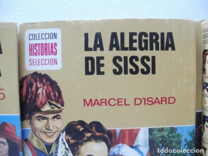 Libros de segunda mano: LOTE 10 LIBROS ILUSTRADOS SISSI BRUGUERA COLECCION HISTORIAS SELECCION - Foto 6 - 171204087