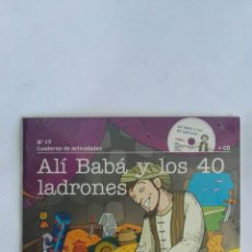 Libros de segunda mano: ALI BABA Y LOS CUARENTA LADRONES LIBRO CD PRECINTADO. Lote 171372675