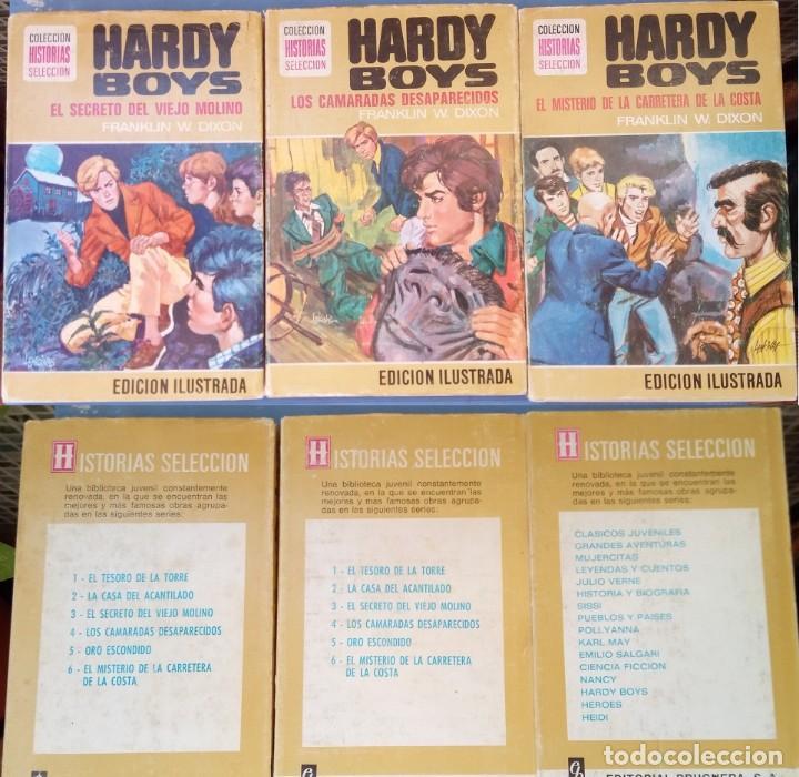 LOTE 3 LIBROS HARDY BOYS COLECCIÓN HISTORIAS SELECCIÓN (BRUGUERA) (Libros de Segunda Mano - Literatura Infantil y Juvenil - Novela)