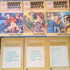 Libros de segunda mano: LOTE 3 LIBROS HARDY BOYS COLECCIÓN HISTORIAS SELECCIÓN (BRUGUERA). Lote 171434507