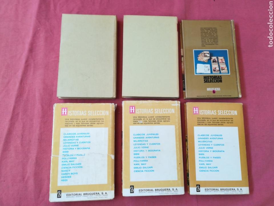Libros de segunda mano: LOTE 12 LIBROS HISTORIAS SELECCIÓN - BRUGUERA - SISSI, JULIO VERNE, FLIPPER... - Foto 4 - 171599824