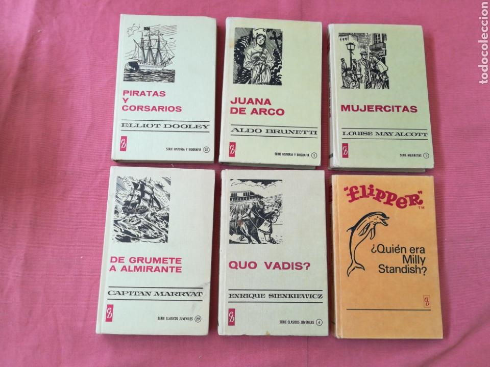 Libros de segunda mano: LOTE 12 LIBROS HISTORIAS SELECCIÓN - BRUGUERA - SISSI, JULIO VERNE, FLIPPER... - Foto 5 - 171599824